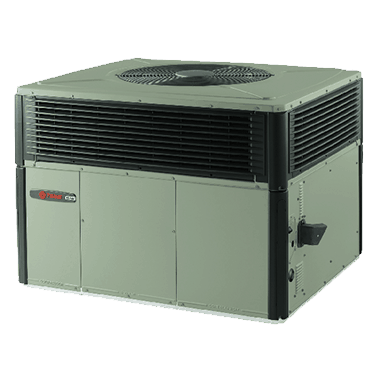 Trane XL16c EarthWise™ Hybrid packaged systems.