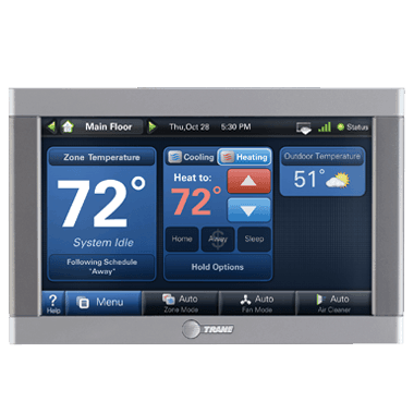 Trane XL950 connected controls.