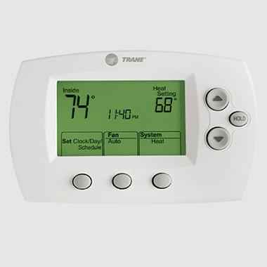 Trane XL600 thermostat.