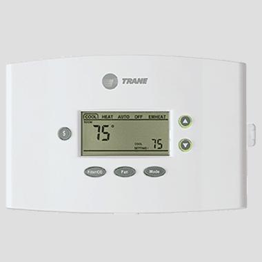 Trane XR402 thermostat.